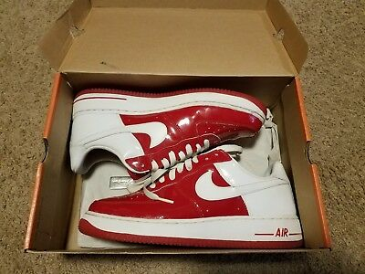 0599f6b7dc2f Pre owned Nike Air Force 1 Prem Valentines Day 2005 SZ 10 VNDS