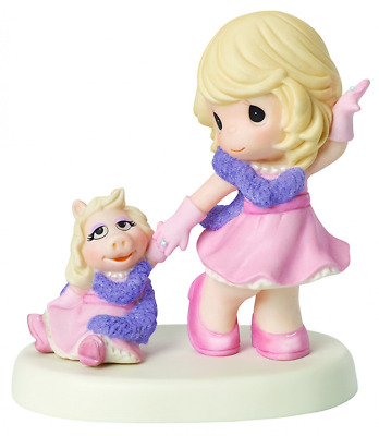 Precious Moments Disney The Muppets Our Friendship Is Fabulous Bisque ... NO TAX