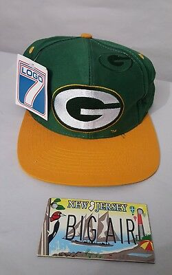 6a9a4a275db90 VINTAGE GREEN BAY PACKERS Snapback Hat Cap Logo 7 NFL -  25.46 ...