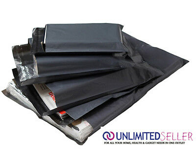 100 BAGS OF 6x9 INCH STRONG POLY MAILING POSTAGE POSTAL QUALITY SELF SEAL 57mu