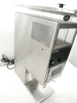 Bunn COFFEE GRINDER COMMERCIAL G9 2T HD Tall Precision  Double Hoppers