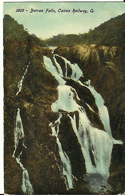 Postcard - Barron Falls, Cairns Railway, North Queensland, Australia