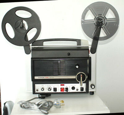 Chinon Sound 8000 8Mm Film Projector. Working Condition.