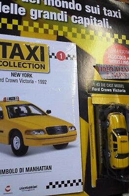 Ford Crown Victoria 1992 New York.taxi Collection 1 Scala 1/43.centauria