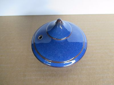 Denby Pottery Imperial Blue LID to Teapot New and Unused Excellent Condition
