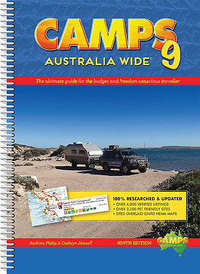 Camps Australia Wide 9 (Spiral Bound) *FREE SHIPPING - NEW*