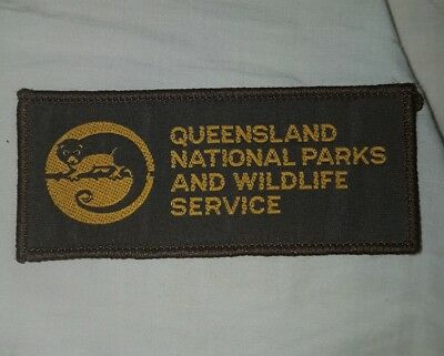 Queensland National Parks Patch - Ranger Wildlife Rescue DNR Australia QLD
