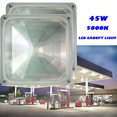 LED Canopy Garage Light 130W Convenience Store, Gas Station, Petrol