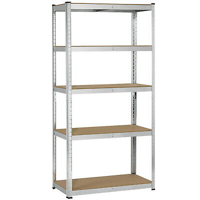 Heavy Duty Shelf Garage Steel Metal Storage 5 Level Adjustable Shelves Rack Unit  sc 1 st  PicClick & HEAVY DUTY STEEL 71