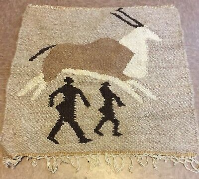 """North African Rug 19""""x19"""""""