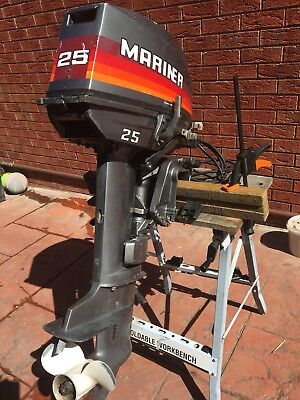 Electric Start 25hp Mariner Outboard Motor