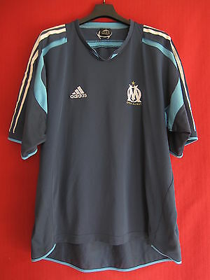 Olympic de Marseille jersey Adidas Training OM Vintage Blue - 6