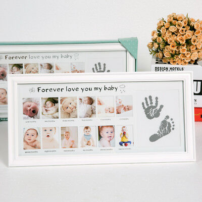 My First Year Moment Photo Frame Babyprints Kits Baby Keepsake Frame