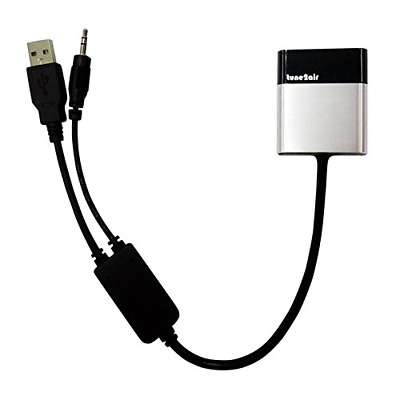 ViseeO Tune2Air WMA3000B Bluetooth Adapter for Streaming iPod/iPhone/iPad to B..