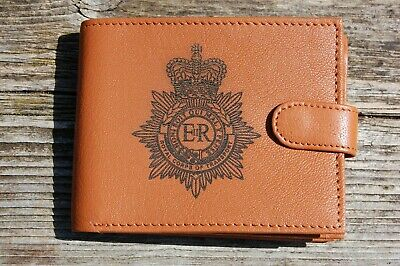 Royal Corps of Transport RCT Men's Genuine leather wallet complete with Gift Box