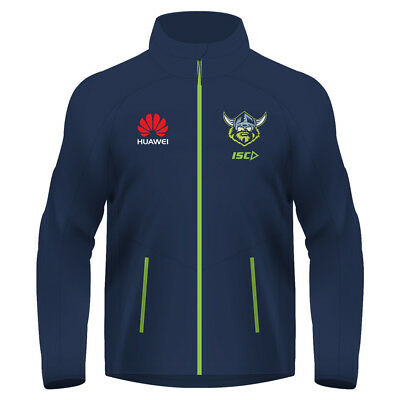 Canberra Raiders 2018 NRL Mens Wet Weather Jacket BNWT Rugby League Clothes
