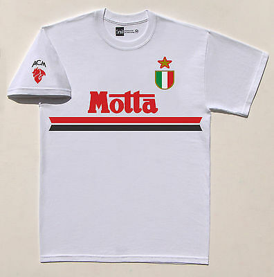 AC Milan 1994 Motta No.10 Savicevic retro T-shirt size Medium
