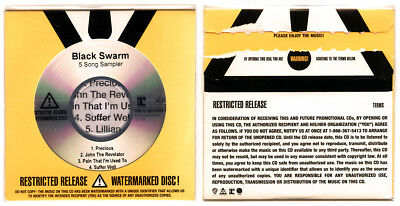 Black Swarm / Depeche Mode - US Promo CD 5-track numbered and watermarked