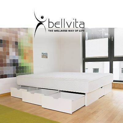 bellvita wasserbett dual inkl schubladen liefer und aufbauservice neu 200x220 eur. Black Bedroom Furniture Sets. Home Design Ideas