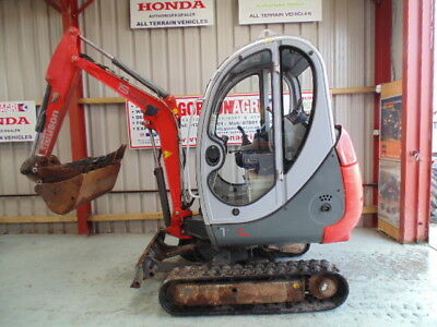 Neuson 1503 Mini Excavator, 1.7 Ton, 2005, 3 buckets, quick hitch