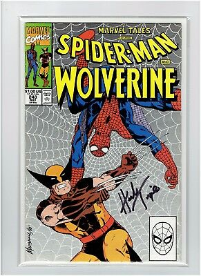 Marvel Tales #243 Spider-Man and Wolverine Herb Trimpe Signed