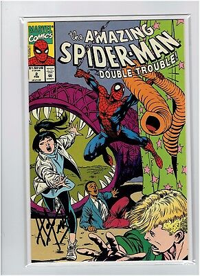 The Amazing Spider-Man Double Trouble #2 1993 Herb Trimpe Signed