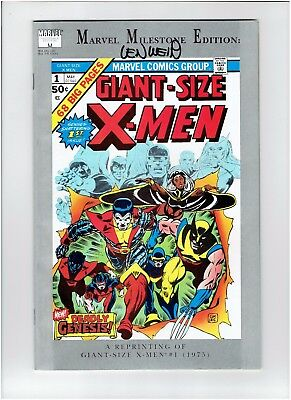 Len Wein Signed Marvel Milestone Edition Giant Size X-Men #1