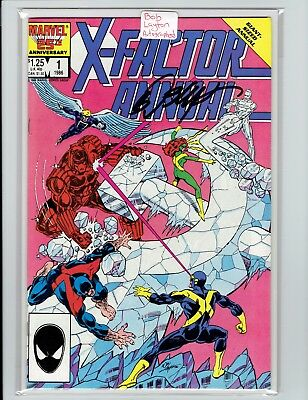 X-Factor Annual #1 1986 Signed Bob Layton