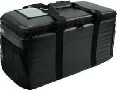 Case of Small Restaurant Hot or Cold Black Insulated Food Delivery Bag NEW