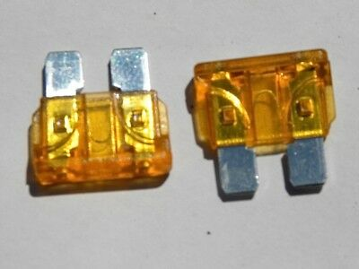 5 fusibles standard fuse 40 A auto moto scooter car automobile voiture 19x19 mm