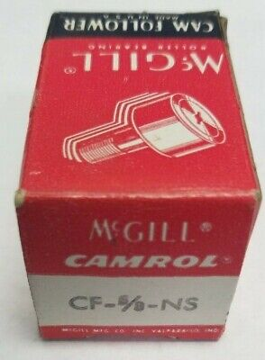 McGill CF 5/8 N S Flat Cam Follower 0.6250 in Roller Dia