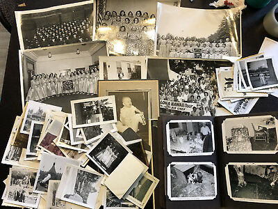 Lot of 100+ Original B&W Found Old Photos 1950s 1960s United States