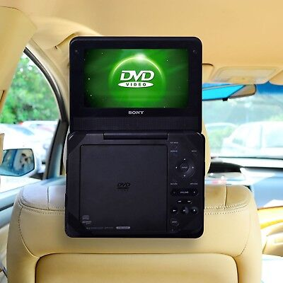 Portable Dvd Player LCD HD Screen Headrest Car Travel CD Kids Movie Gift, 9 Inch