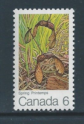 Canada #535ii Single Green Frog on Leaf Variety MNH **Free Shipping**