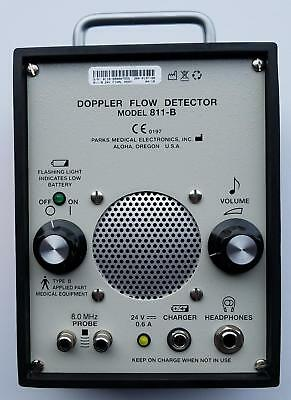 Parks Medical Electronics Doppler Flow Detector Model 811-B