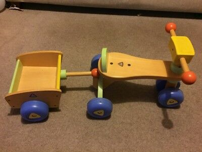 EASY Wheels tiger Ride-On Toy ELC Early Learning Centre - £10.00 ...