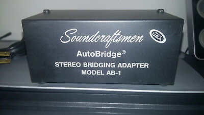 Soundcraftsmen Ab-1 Stereo Bridging Adapter