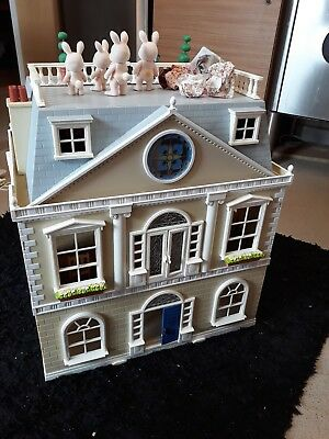 sylvanian families houses cost well over 300 for the house and furniture etc