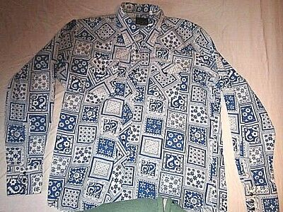 Retro Vintage 70's - 80's Men's Leisure  Shirt Only