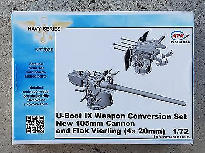 U-Boat U-Boot U-IX Germany WWII conversion set for Revell kit 1:72 CMK N72020