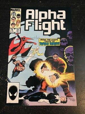 Alpha Flight#31 Incredible Condition 9.0(1986) Mignola Art!!