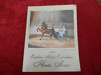 1985 Eastern States Exposition Horse Show Program