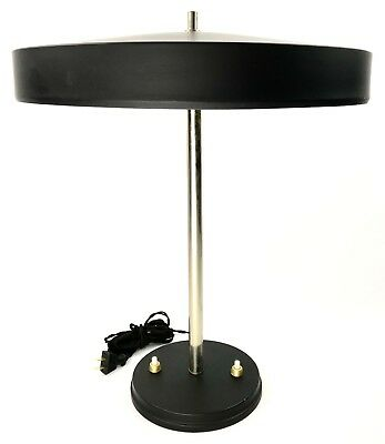 EXTREMELY RARE 1950s Vintage Philips Large Desk Lamp by LOUIS KALFF STILNOVO