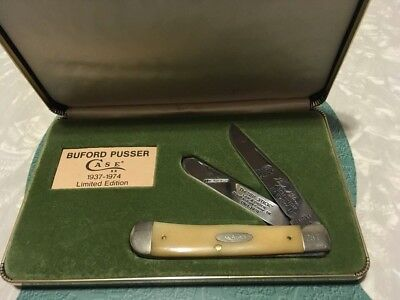 Bufford Pusser CASE Knife, limited edition, 1937 - 1974 VERY NICE!!