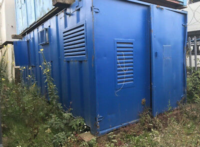 24x10 Anti Vandal Steel Welfare Canteen Store  Container Cabin