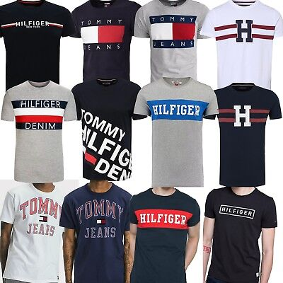 tommy hilfiger herren t shirt aktuelle modetrends versch modelle gr en neu eur 21 90. Black Bedroom Furniture Sets. Home Design Ideas
