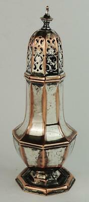 GEORGE III OLD SHEFFIELD PLATED SUGAR SIFTER c1800