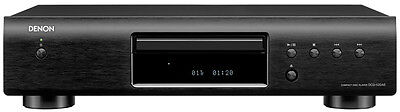 Denon DCD-520AE CD Player Finished Black - Black New, Official Warranty