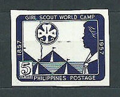 Philippines - Mail 1957 Yvert 451a without pinking ( ) Mng Scoutismo