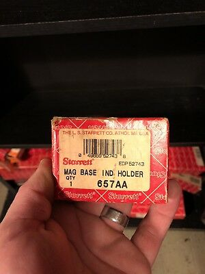 Preowned Starrett Mag Base Ind Holder 657Aa